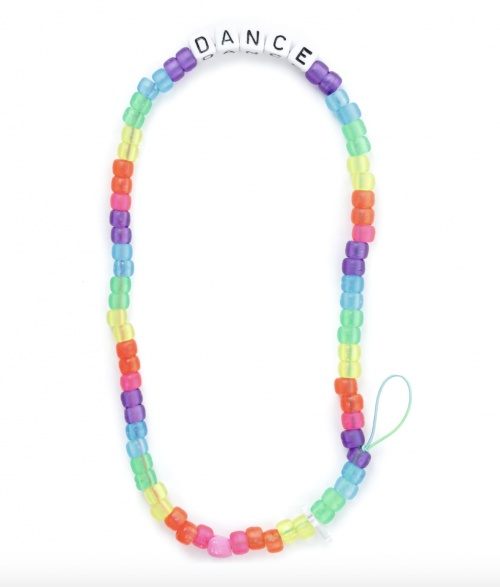 Lauren Rubinski - Bijou de téléphone Love Beads DANCE en perles