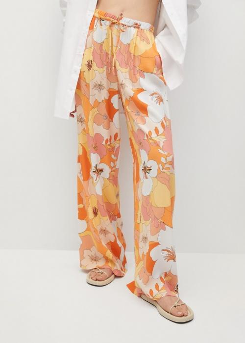 Mango - Pantalon imprimé