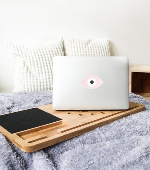 L'avant gardiste - Support en bois ordinateur
