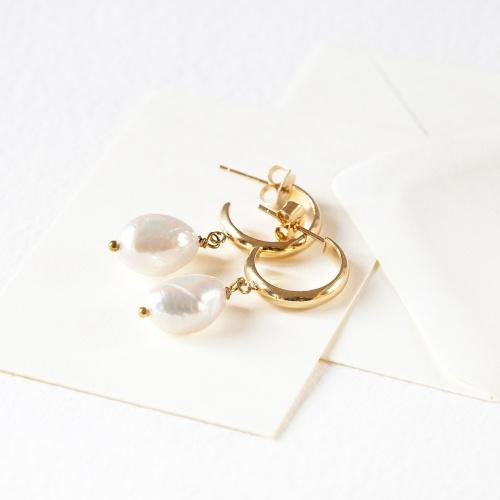 Graazie - Créoles perles