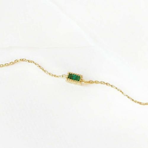 Graazie - Bracelet émeraude