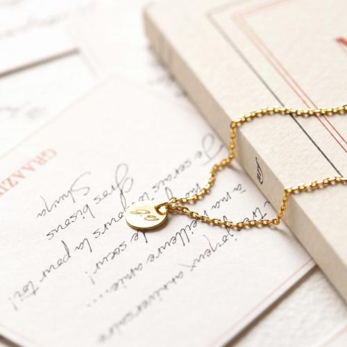 Graazie - Bracelet à graver