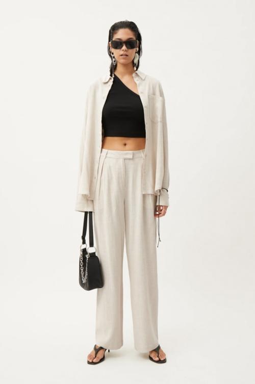 Weekday - Pantalon en lin