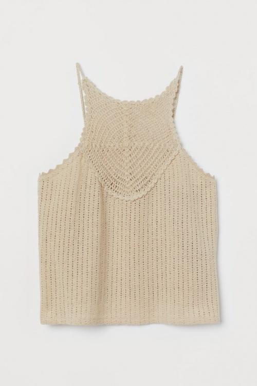 H&M - Top en crochet