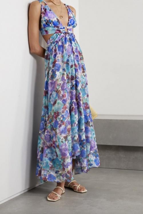 Patbo - Robe longue fleurie