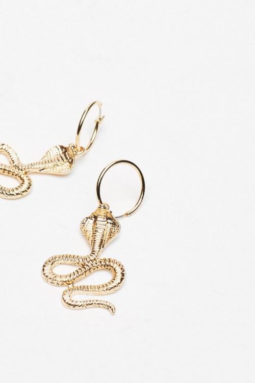 Nasty Gal - Boucles d'oreilles à pendants serpents