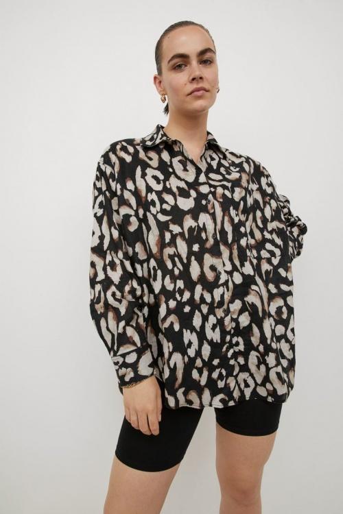 H&M - Chemise léopard