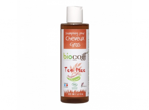 Biocoiff - Shampoing certifié BIO au Tea Tree