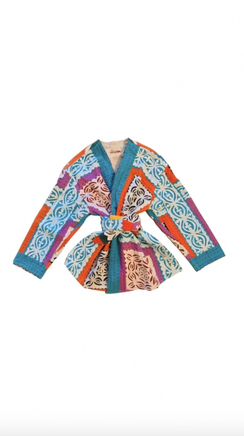Victoria Leivissa - Kimono en coton