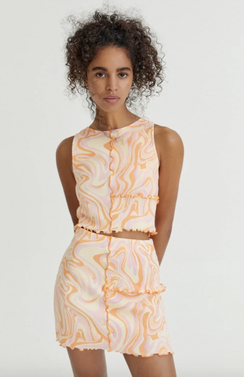 Pull & Bear - Top à coutures apparentes