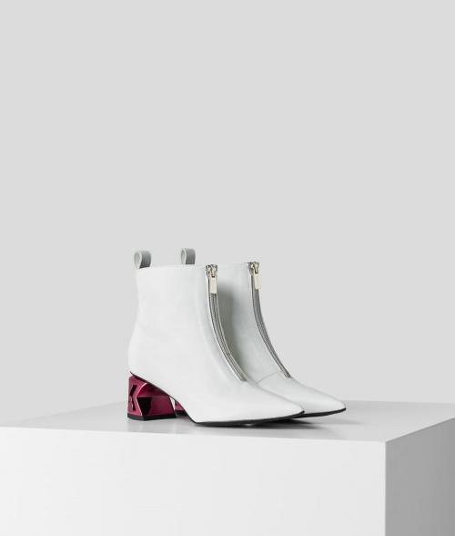 Karl Lagerfeld - Bottines blanches