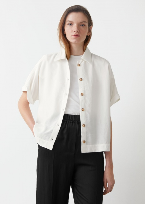 & Other Stories - Chemise à manches courtes