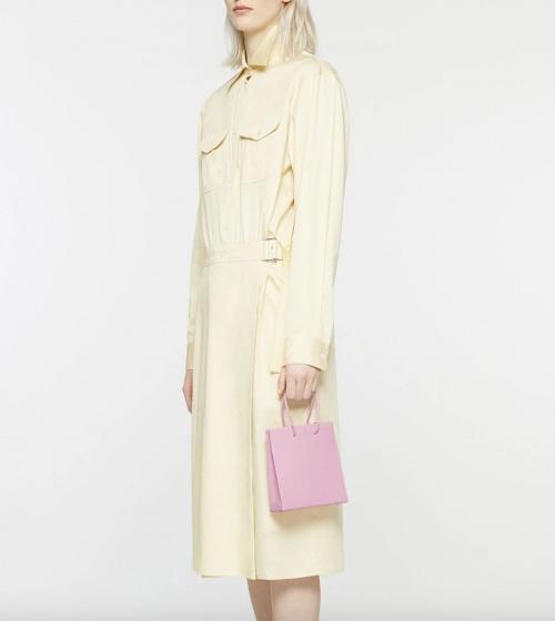 Medea sur GaleriesLafayette.com - Mini sac cabas en cuir