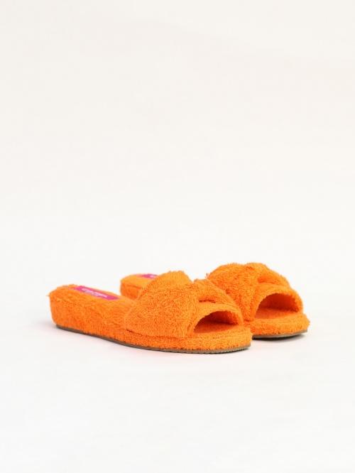 Carel - Mules éponge mandarine