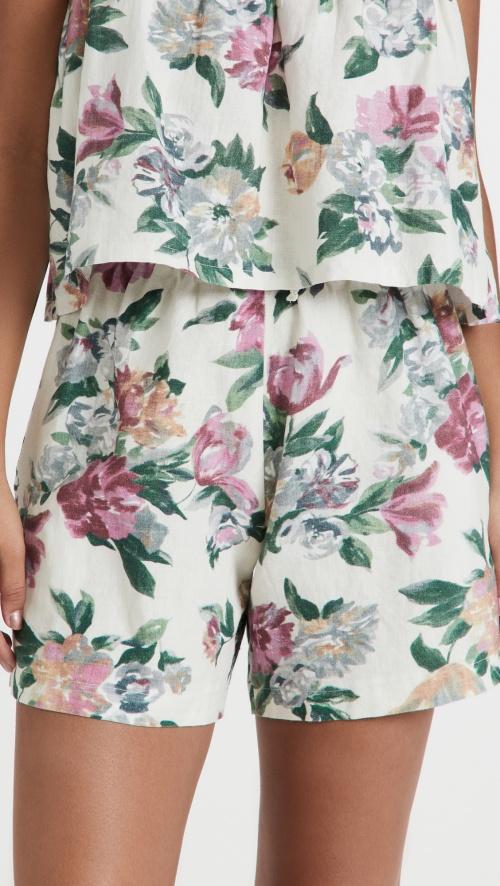 Tach Clothing - Short fleuri