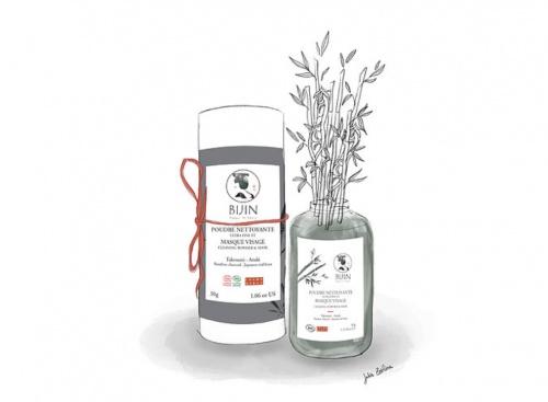 BIJIN - Poudre nettoyante et masque visage takesumi