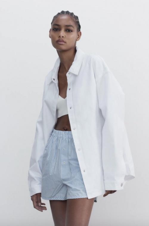 Zara - Chemise oversize