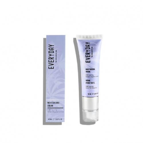 Everweeday - Everwee-Beauty - Crème Hydratante CBD 140mg Et Citron Bio