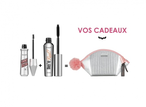 Benefit Cosmetics - Kit Benefit : Mascara They're Real + Mascara Pour Les Soucils Gimme Brow