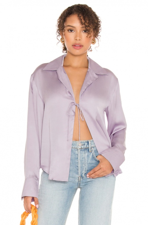 Song of Style - Blouse satinée