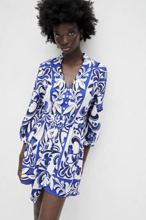 Zara - Robe chemise