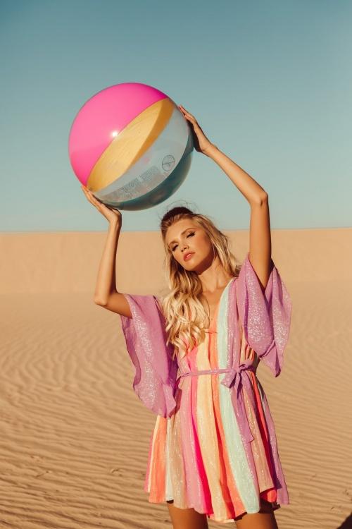 Sundress - Robe colorée