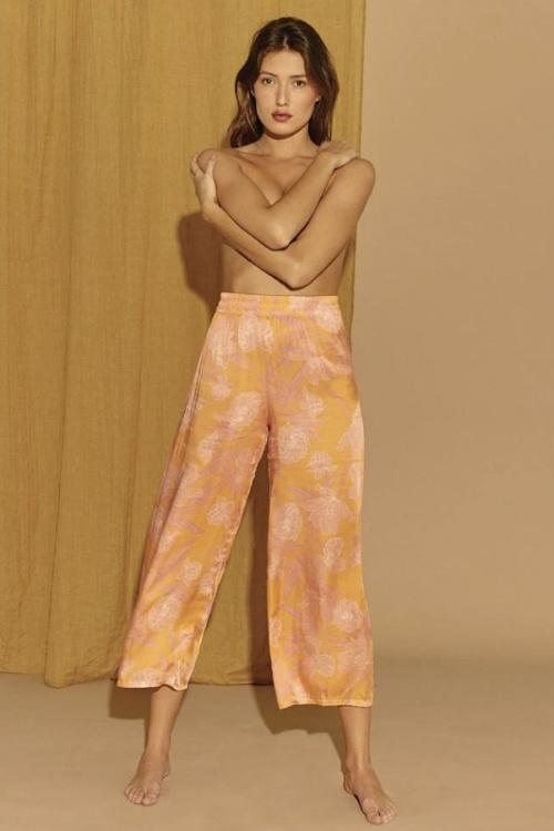 Noo Paris - Pantalon fluide à imprimé