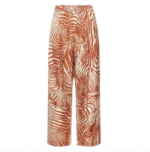 Suzie Winkle sur Smallable.com - Pantalon à imprimé en soie