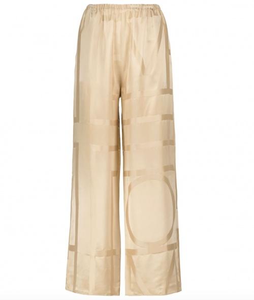 Totême sur MyTheresa.com - Pantalon ample monogramme en soie