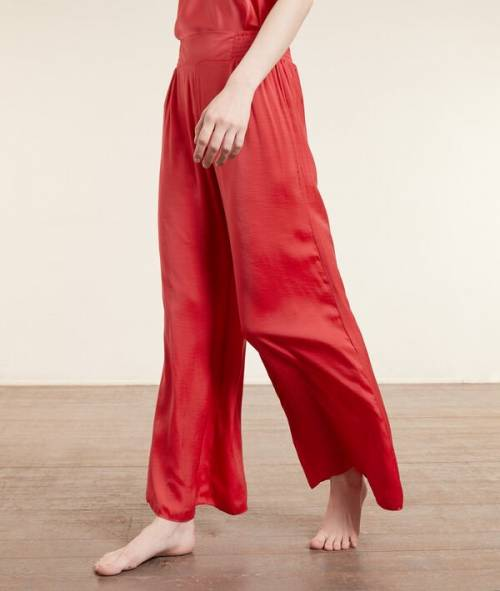 Etam - Pantalon pyjama satiné