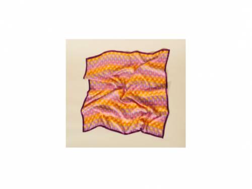 Sandro - Foulard imprimé en soie