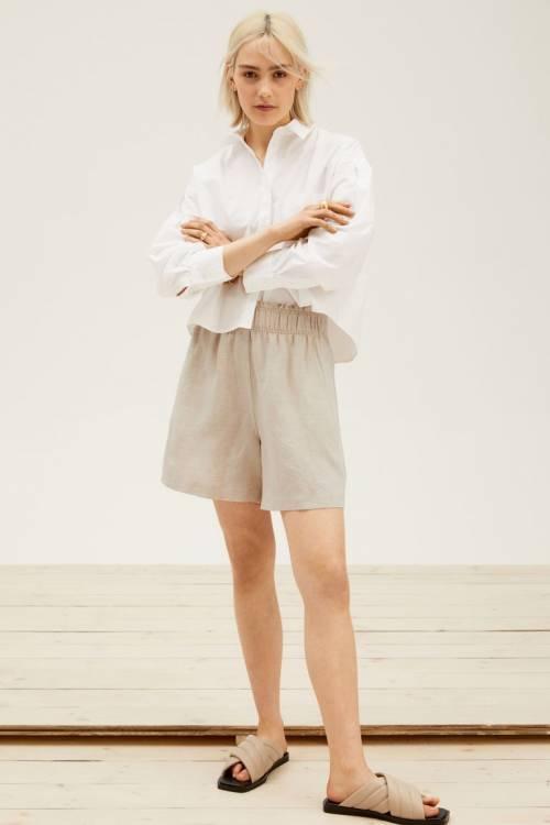 H&M - Short en lin