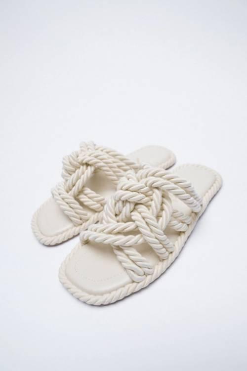 Zara - Sandales corde