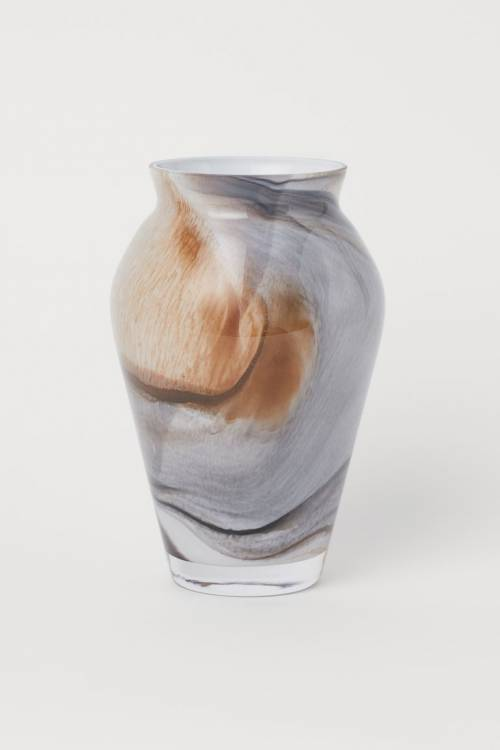 H&M - Vase en verre