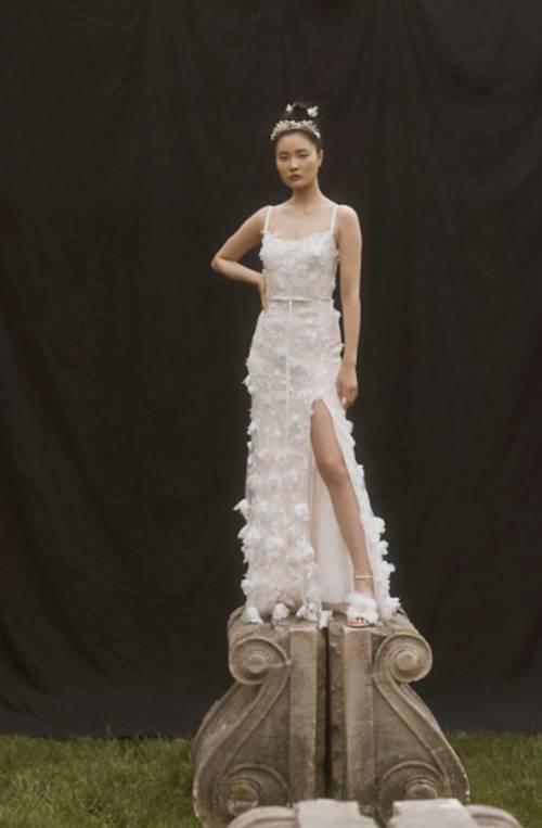 BHLDN - Robe de mariée en tulle