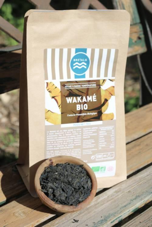 Wakamé Déshydraté À Basse Température