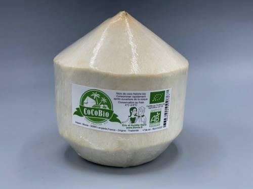 Cocos Fraîches Certifiées Bio Ecocert