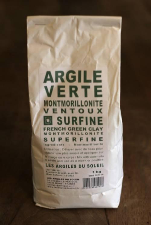 Argile Montmorillonite Du Mt Ventoux Non Chauffée