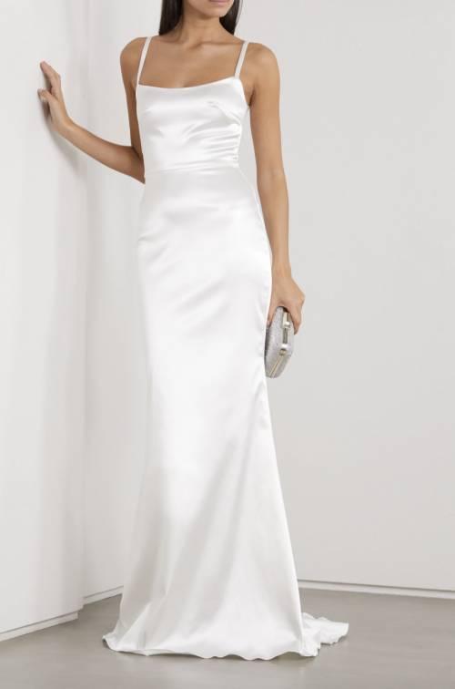 Halfpenny London - Robe de mariée en satin