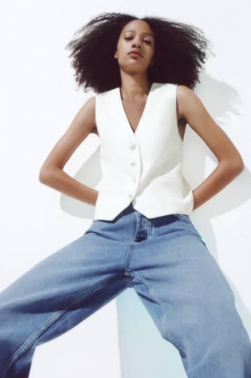 Zara - Gilet style tailleur