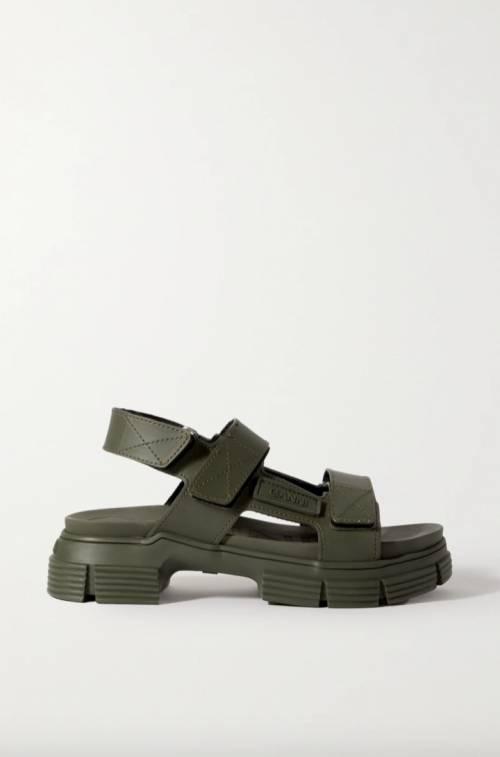 Ganni - Sandales plates