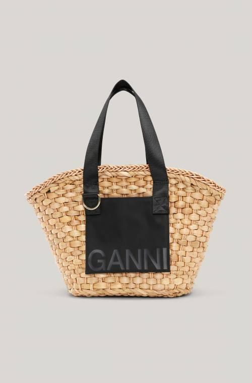 Ganni - Panier osier