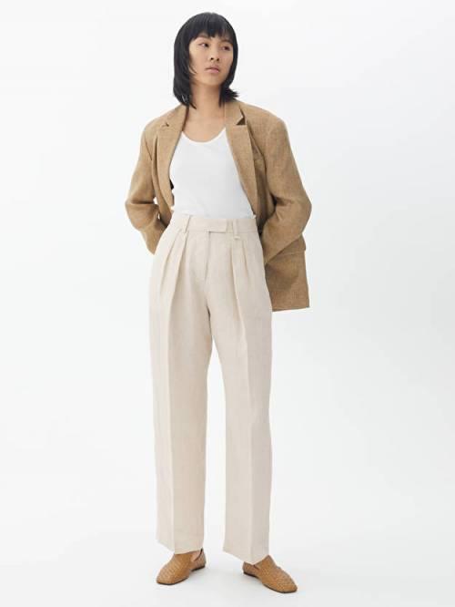 Arket - Pantalon de tailleur en lin