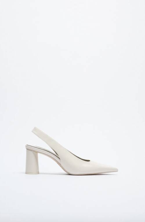 Zara - Chaussures à talons larges