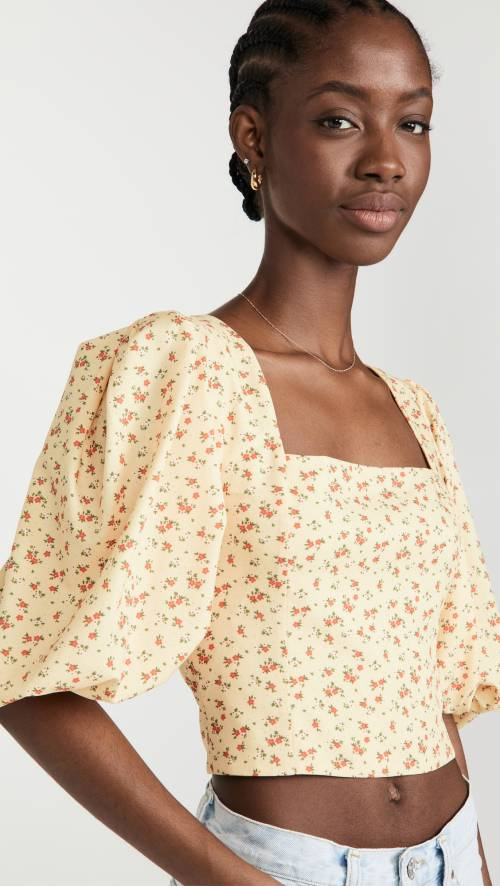 Sokie Collective - Blouse fleurie
