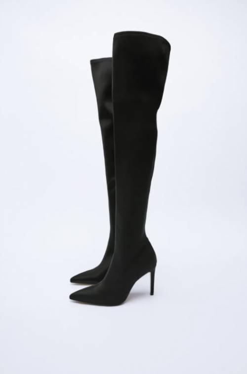 Zara - Cuissardes en cuir