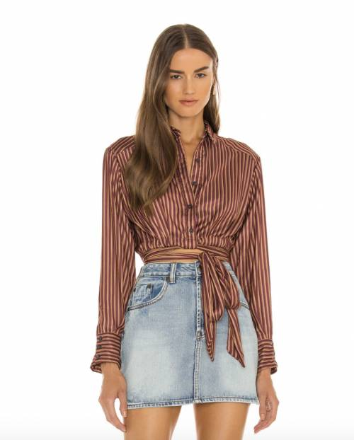 Free People - Chemise à nouer