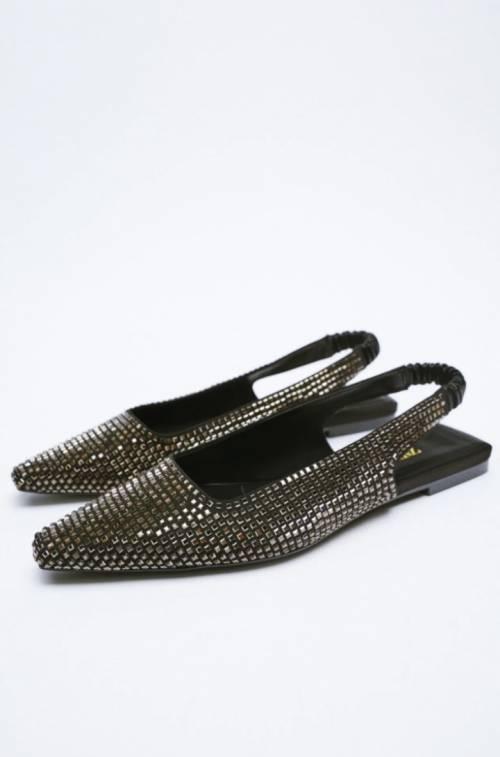 Zara - Chaussures plates à sequins