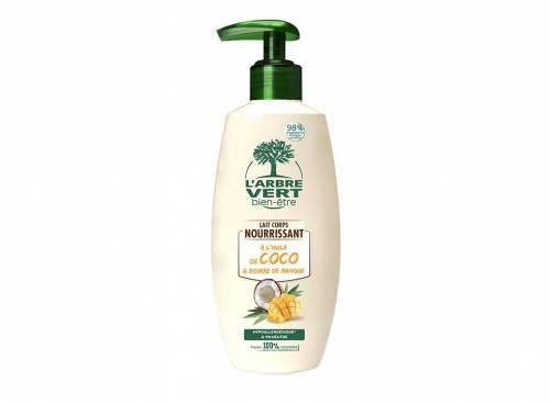 L'Arbre Vert Bien-Être - Lait corporel nourrissant à l'huile de coco