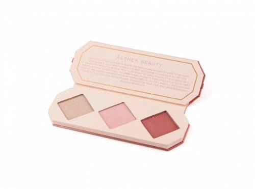 Aether Beauty - Crystal Charged Cheek Palette   Ruby